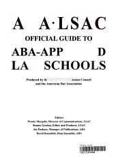ABA LSAC Official Guide to ABA Approved Law Schools 2004 PDF