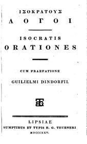 Orationes, cum praef. Guilielmi Dindorfii (graece).