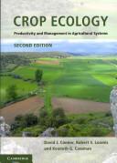 Crop Ecology PDF