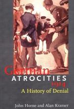 German Atrocities, 1914