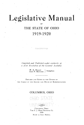 Legislative Manual of the State of Ohio