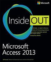 Microsoft Access 2013 Inside Out PDF