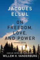 On Freedom  Love  and Power PDF