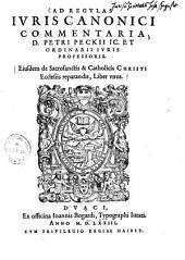 Ad regulas iuris canonici commentaria