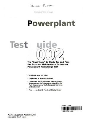 Powerplant Test Guide 2002