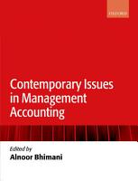 Contemporary Issues in Management Accounting PDF
