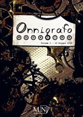 Onnigrafo Magazine: Volume 1, 13 giugno 2016