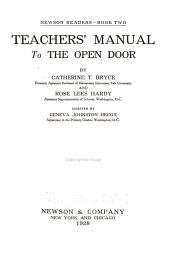 Newson Readers     Teachers  Manual      Teachers  manual to the Open door PDF