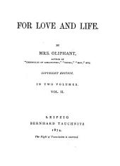 For Love and Life: Volume 2