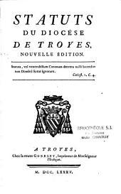 Statuts du diocèse de Troyes