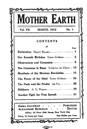Mother Earth: Volume 7