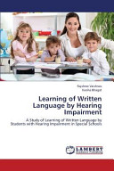 Learning of Written Language by Hearing Impairment
