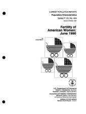 Fertility of American women: Issue 454