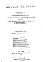 The Works of John Ruskin: Volume 8