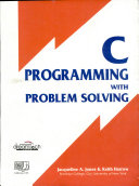 C Programming with Problem Solving PDF