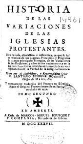 Historia de las variaciones de las iglesias protestantes ...