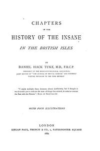 Chapters in the History of the Insane in the British Isles PDF