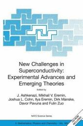 New Challenges in Superconductivity: Experimental Advances and Emerging Theories: Proceedings of the NATO Advanced Research Workshop, held in Miami, Florida, 11-14 January 2004