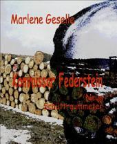 Neun Schüttraummeter: Kommissar Federstein - 1. Fall