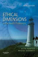 Ethical Dimensions in the Health Professions   E Book PDF