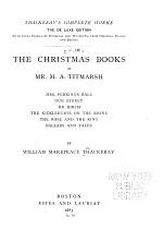 Thackeray's Complete Works: Christmas books of Mr. M.A. Titmarsh