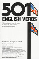 Download 501 English Verbs Book