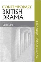 Contemporary British Drama PDF