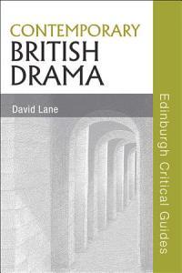 Contemporary British Drama Book