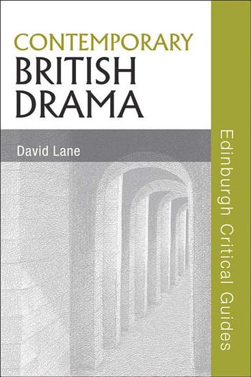 Contemporary British Drama PDF