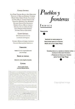 Pueblos y fronteras PDF