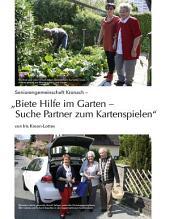 """Seniorengemeinschaft Kronach – """"Biete Hilfe im Garten – Suche Partner zum Kartenspielen"""": ECHT Oberfranken - Ausgabe 25"""