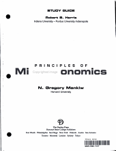 Study Guide, Principles of Microeconomics