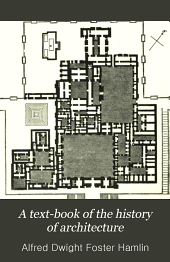 A Text-book of the History of Architecture