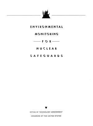 Environmental Monitoring for Nuclear Safeguards PDF