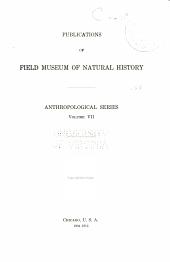 Anthropological series: Volume 7