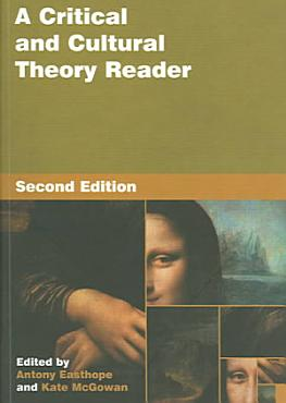 A Critical and Cultural Theory Reader PDF