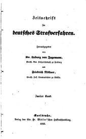 Zeitschrift für deutsches Strafverfahren einschließlich des Gefängniswesens: Band 2