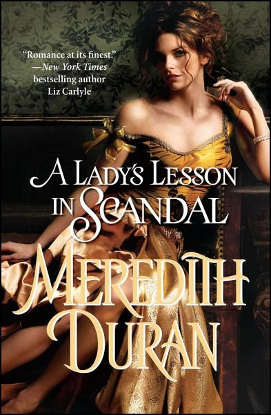 A Lady s Lesson in Scandal