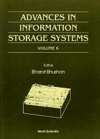 Advances in Information Storage Systems PDF