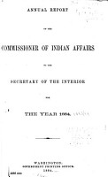 Annual Report of the Commissioner of Indian Affairs PDF