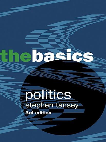 Politics  the Basics PDF