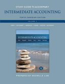 Study Guide to Accompany Intermediate Accounting  Tenth Canadian Edition