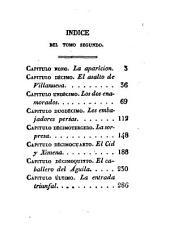 La conquista de Valencia por el Cid: novela histórica original, Volumen 2