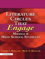 Literature Circles That Engage Middle and High School Students PDF