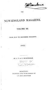 The New-England Magazine: Volume 3
