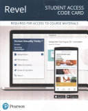 Human Sexuality Today Revel Access Card Book