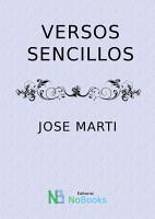 Versos sencillos PDF