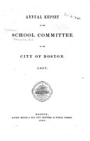 Annual Report of the School Committee of the City of Boston PDF