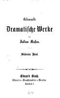 Gesammelte dramatische Werke0 PDF
