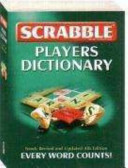 Scrabble Players Dictionary Book